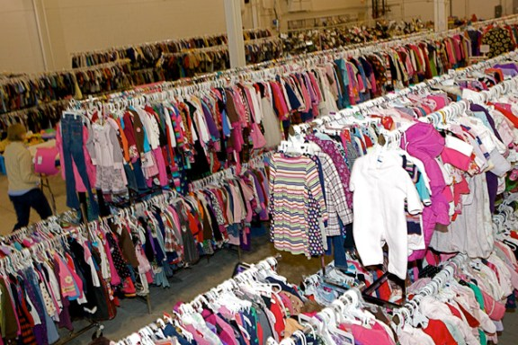 Growing Cents of Style Children's Consignment Sale - Photographed by Julie Linnekin