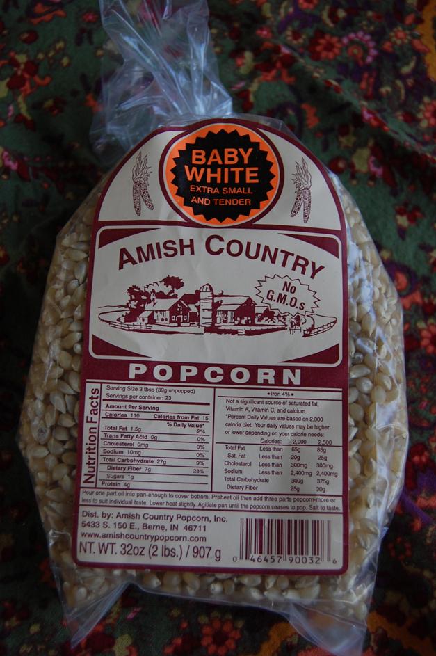 Mama Jess Favorite: Amish Popcorn - Baby White Kernel at Heinen's Fine Foods