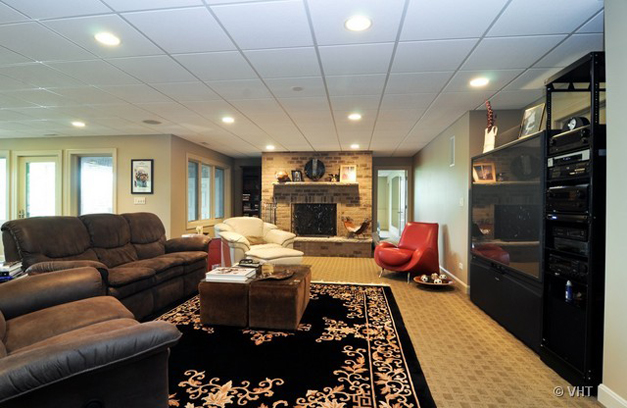 Lower Level at 205 Honey Lake Court in North Barrington, IL - Listed for Sale by Suzanne & Liz Luby