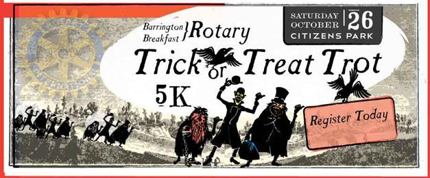 Barrington Breakfast Rotary 6th Annual Trick or Treat Trot