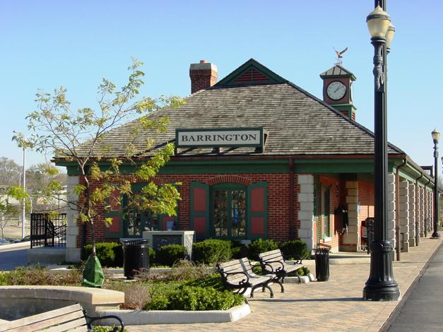 Barrington's Metra Station