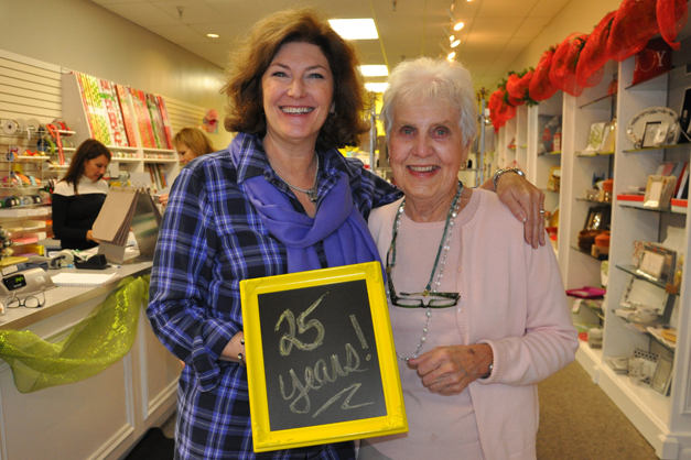 Amy Hawking and Jean Stahr Celebrate Little Shop of Papers' 25th Anniversary