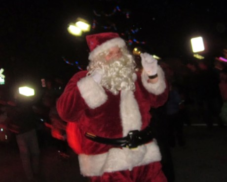 Santa's Harrington Arrival - Photographed by Marty Smith III, US Marines 2nd District Commandant
