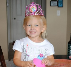 Payton Felde Celebrating her 3rd Birthday