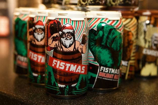 Fistmas holiday ale at Heinen's - Photographed by Julie Linnekin