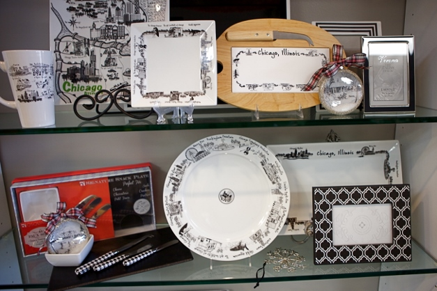 Chicago-themed tableware by Dish - Photographed by Julie Linnekin