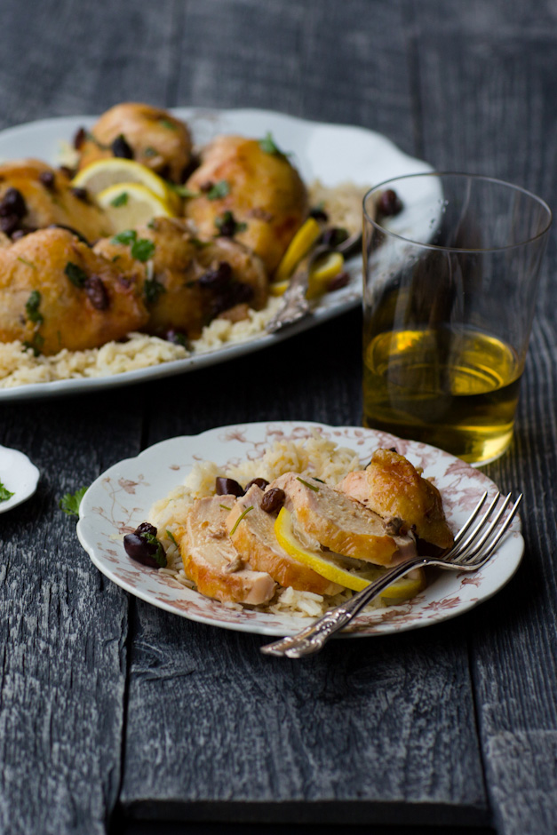 ... Recipes: Michelle Van Loon's Moroccan Chicken with Lemon and Olives