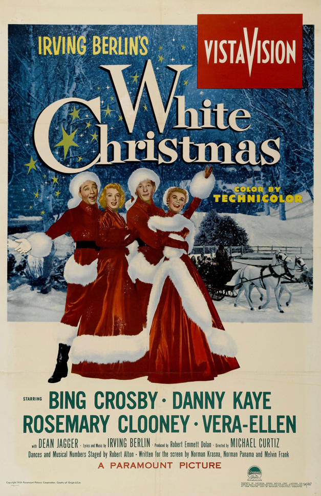 """Special """"White Christmas"""" Holiday Matinée at  the Catlow Theater Saturday, December 7th, at 11 a.m."""