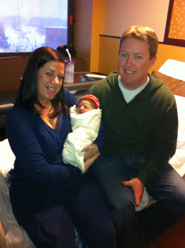 First 2014 Baby Born at Advocate Good Shepherd Hospital