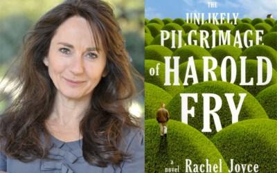 """40. Help Me Interview """"Unlikely Pilgrimage of Harold Fry"""" Author Rachel Joyce"""