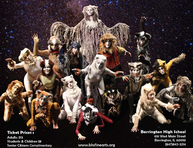 CATS Performances at Barrington High School on February 27, 28 & March 1st