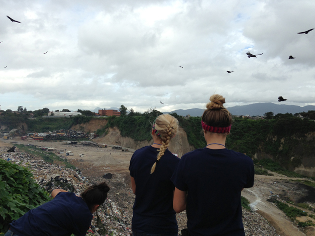 Hope's in Style Volunteers in Guatemala - Courtesy of Courtney Quigley
