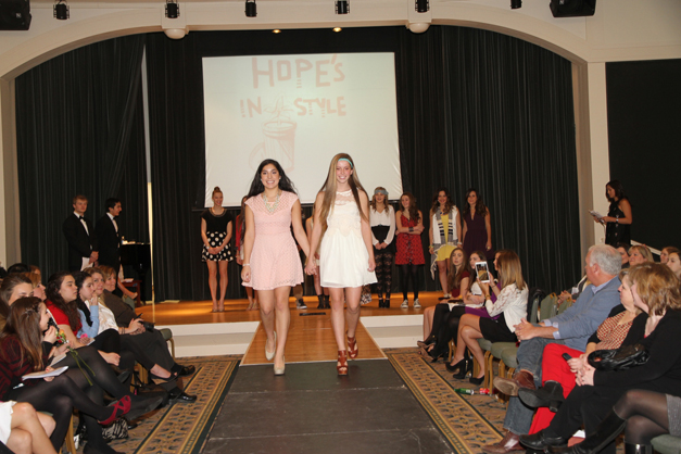 Hope's in Style 2014 Fashion Show - Photographed by Bob Lee