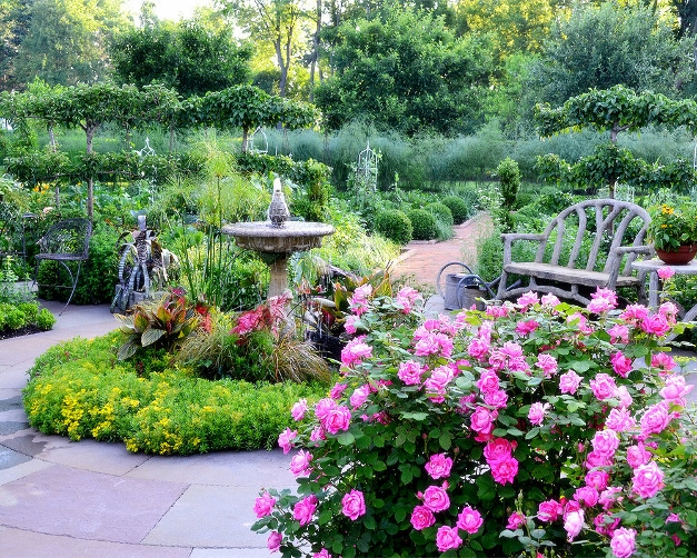 A lovely scene from the Barrington Country Garden & Antique Faire - Photo courtesy of John Staab