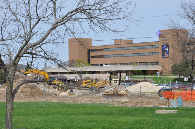 Advocate Good Shepherd Hospital Construction Update - Spring, 2014
