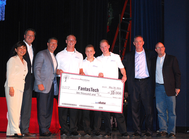 "FantasTech Tutors Win Big at BHS Startup Incubator ""Pitch Night"" - Photographed by Gary Schmitz"