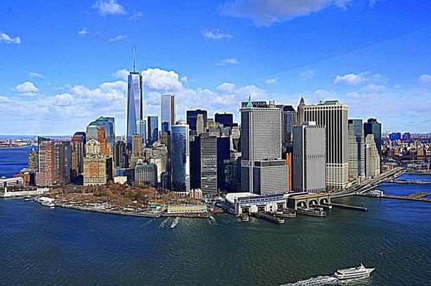 New York City's Mahnattan Island - Photographed by Peter Yankala