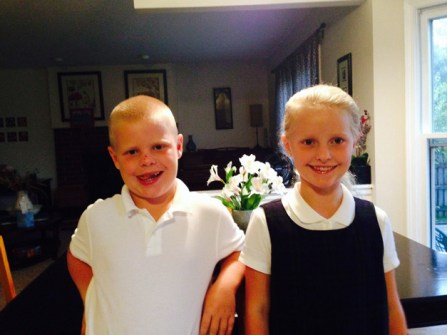 Back to School with the Sorensons - Submitted by mom, Kerry Sorenson
