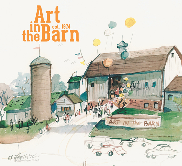 40th Annual Art in the Barn - September 27th & 28th, 2014