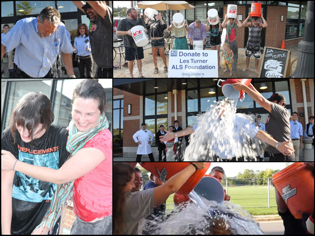 Heinen's Grocery, Cook Street Coffee & BHS-TV Take the Ice Bucket Challenge
