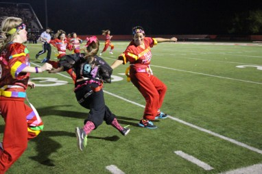 Post - Filly Football Powder Puff Homecoming Game - 102