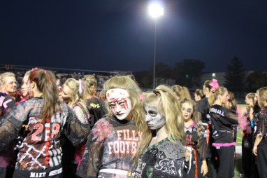 Post - Filly Football Powder Puff Homecoming Game - 12