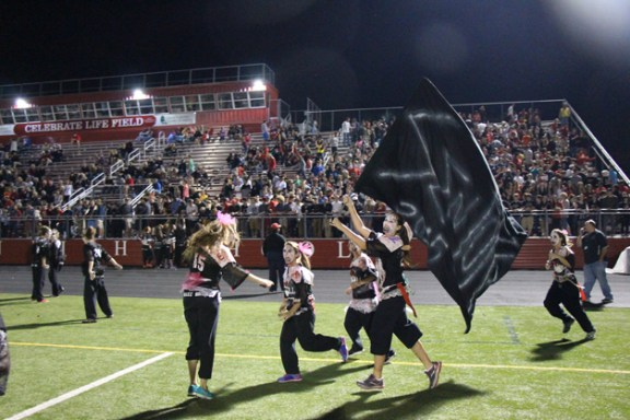 Post - Filly Football Powder Puff Homecoming Game - 161