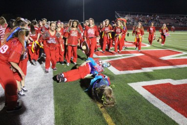 Post - Filly Football Powder Puff Homecoming Game - 170