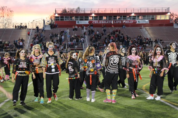 Post - Filly Football Powder Puff Homecoming Game - 33