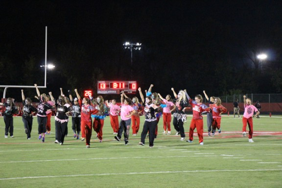 Post - Filly Football Powder Puff Homecoming Game - 92