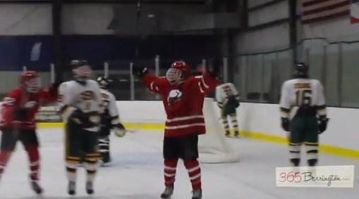 Post - Barrington High School Hockey Defeats Glenbrook North in BHS Game of the Week - 10