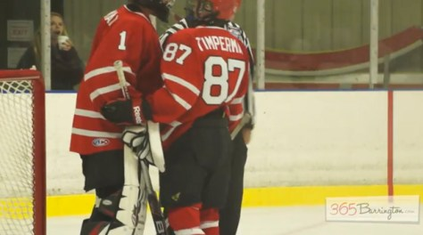 Post - Barrington High School Hockey Defeats Glenbrook North in BHS Game of the Week - 7
