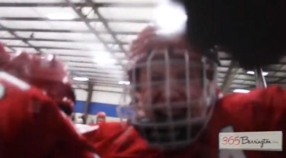 Post - Barrington High School Hockey Defeats Glenbrook North in BHS Game of the Week - 9