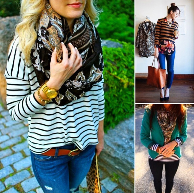 LUXE wearhouse Guide to Successfully Mixing Prints - Recently Pinned by LUXE wearhouse on Pintrest