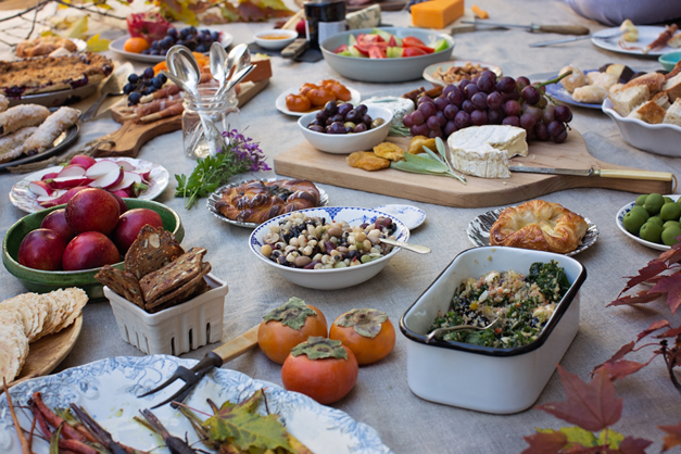 Heinen's Sunday Supper: Roeckell Family Fall Picnic - Photo by Sally Roeckell