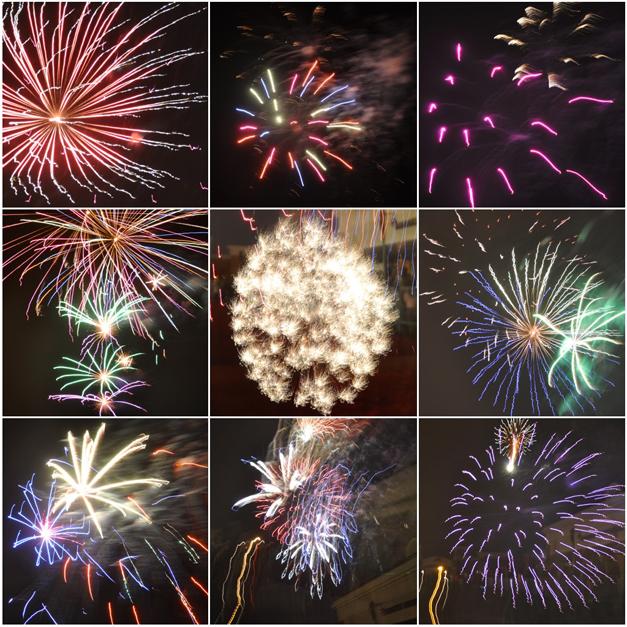 Fireworks for Santa's Arrival at Deer Park Town Center