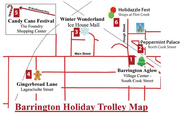Barrington Aglow Holiday Trolley