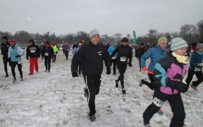 24. VIDEO: Runners Unite for Frozen Zucchini Snowshoe Adventure