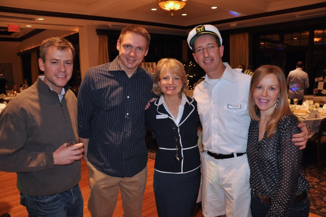 Hough parents Joe Schauenberg, Brad Stanek, Wendy Farley, Chris Cocoma, and Debra Johnson - Photographed by Liz Luby