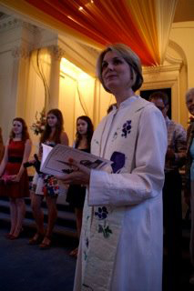 Presbyterian Church of Barrington Pastor Kate Kelly