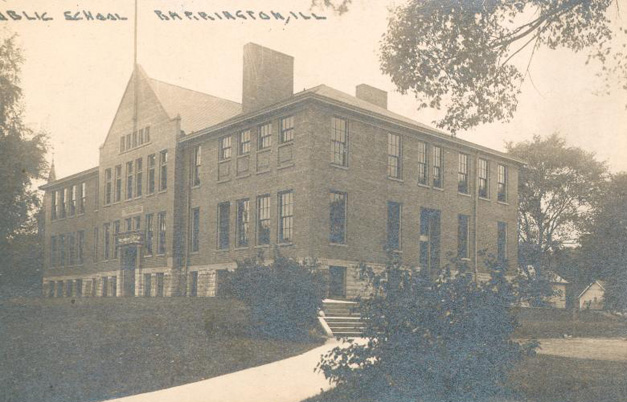 Hough Street School in Barrington - Photo from the Arnett C. Lines Collection