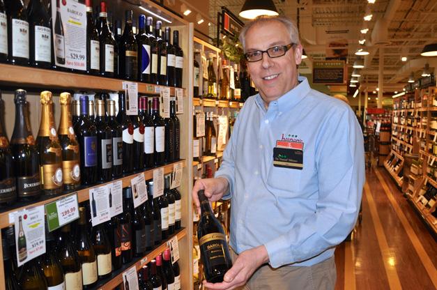 Heinen's Grocery Wine Consultant, Ken O'Connor