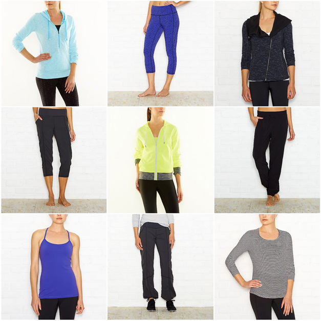 Post - Collage - lucy activewear - Deer Park Town Center