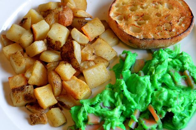 Green Eggs & Ham at Egg Harbor Café
