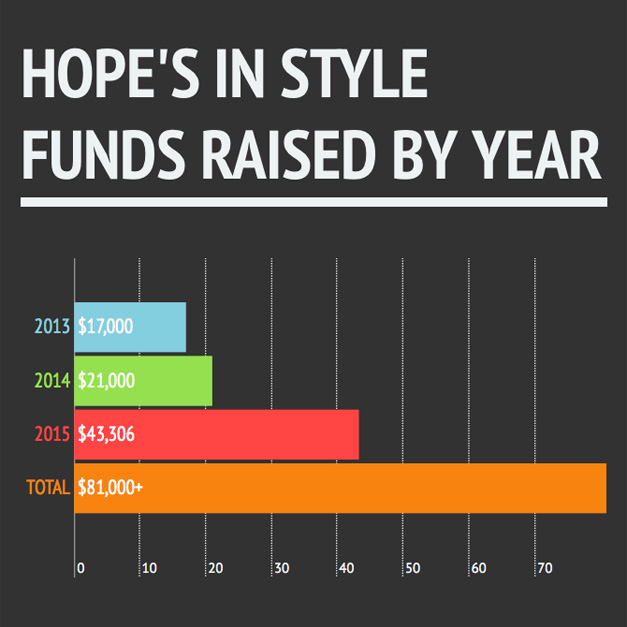 Post - Hope's in Style Funds Raised by Year - Square
