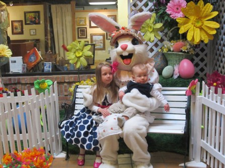 Post - Ice House Easter Bunny - 2