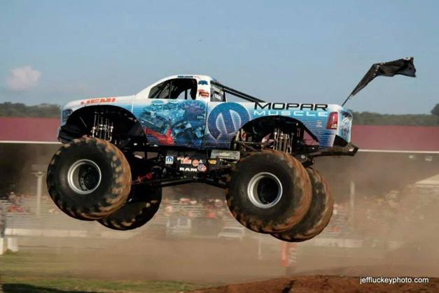 Post - Mopar Muscle Monster Truck