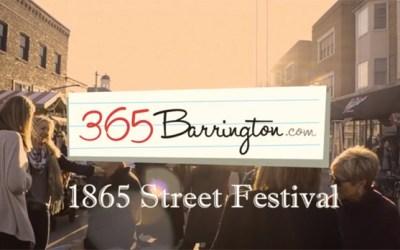 111. VIDEO: Barrington 1865 Street Festival Sights & Sounds