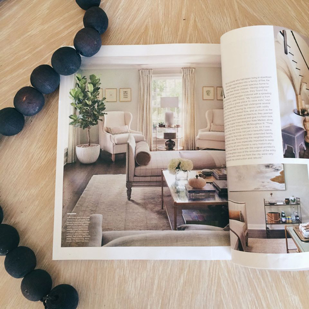 131 Kate Marker Interiors Lands 14 Page Feature In Luxe Home Magazine 365barrington