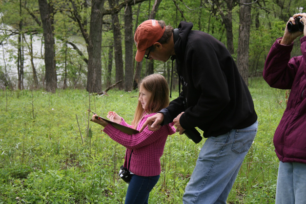 CFC Mother's Day Wildflower Walk - Photo by Sarah Hoban